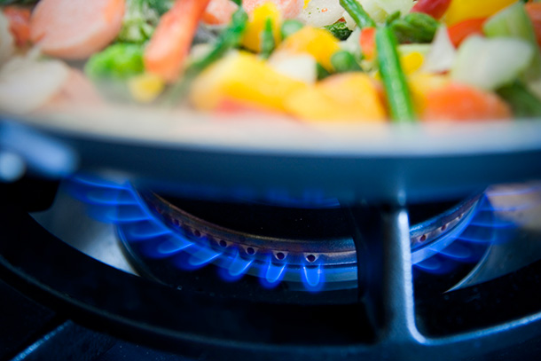 cooking with gas