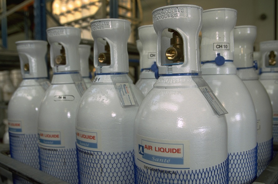 Industrial Gas Cylinders • Eddlesgas & Tackle • Seperating